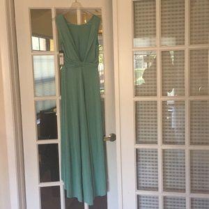 never worn BCBG high-low mint green dress